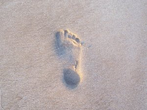 FootprintStone