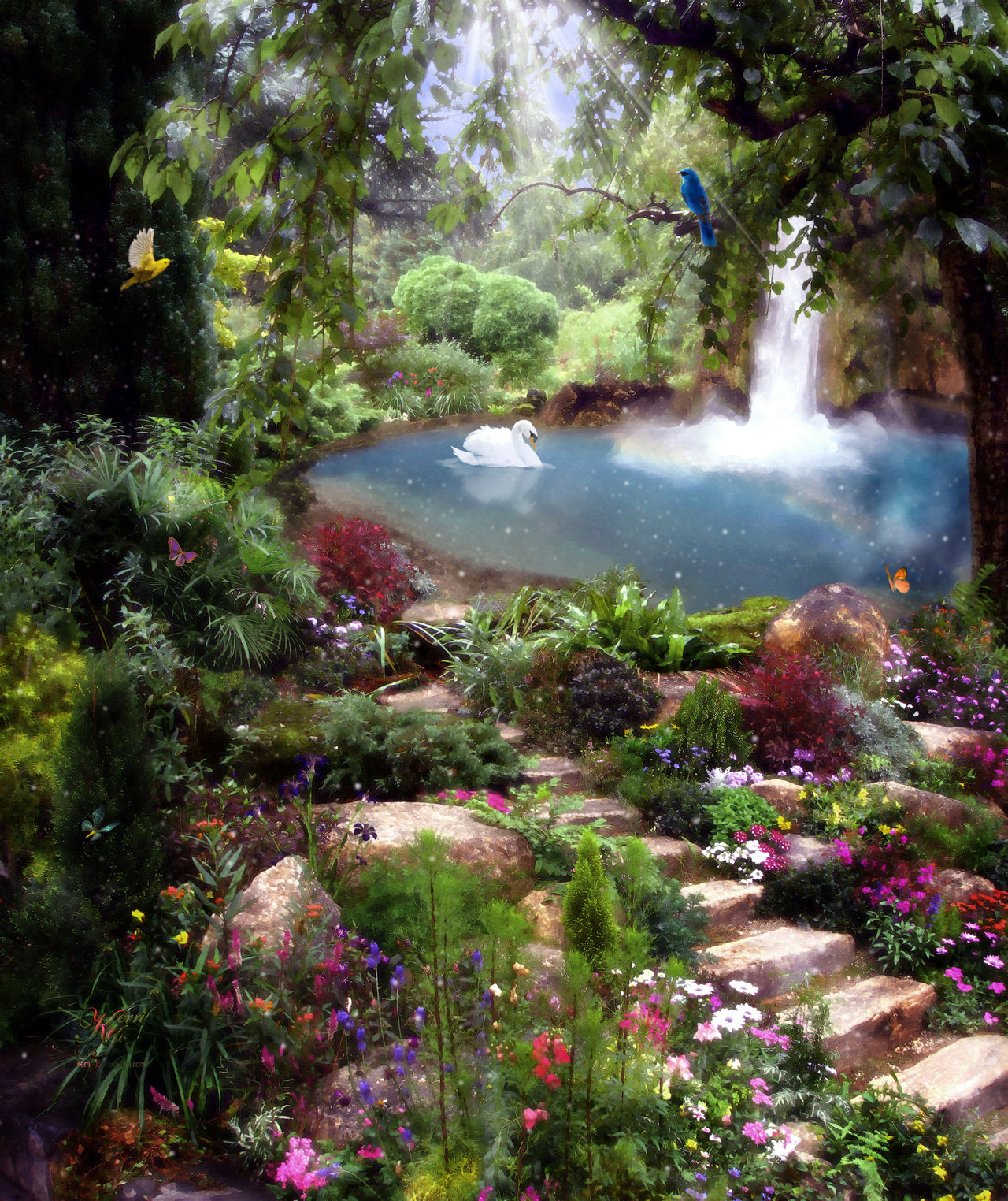 Pennies from heaven part 3 beautiful gardens angelicview for How to make a beautiful garden