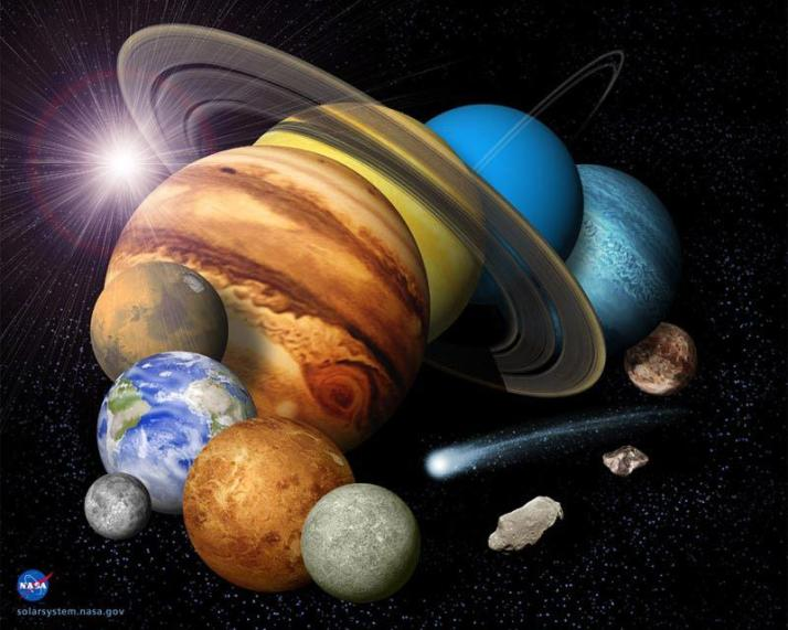 Edgar Cayce and the Universe  Solarsystem