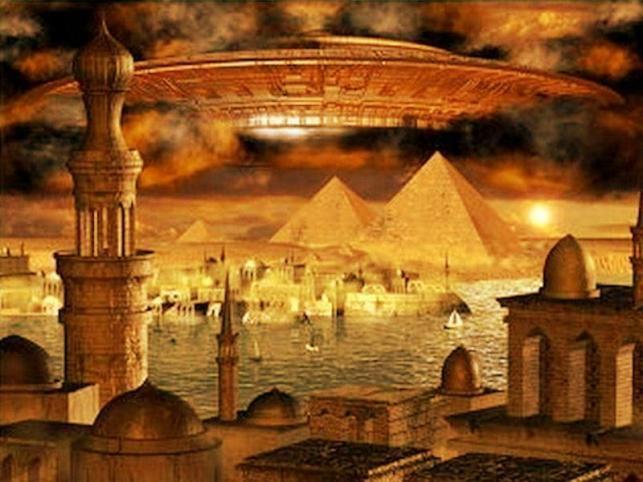 PyramidsSpaceship