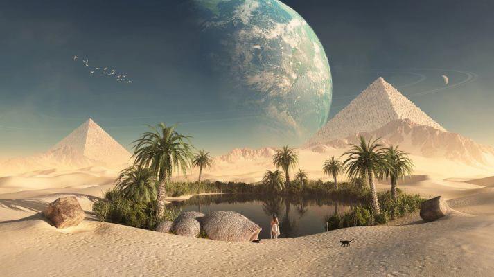 MirageOfPyramids