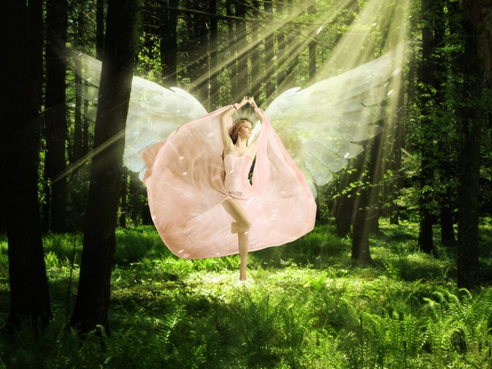 """Angel in the Woods"" by Annuski, Deviant Art"