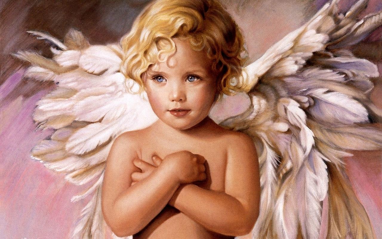 Хорошего настроения, открытки с ангелом хранителем для детей