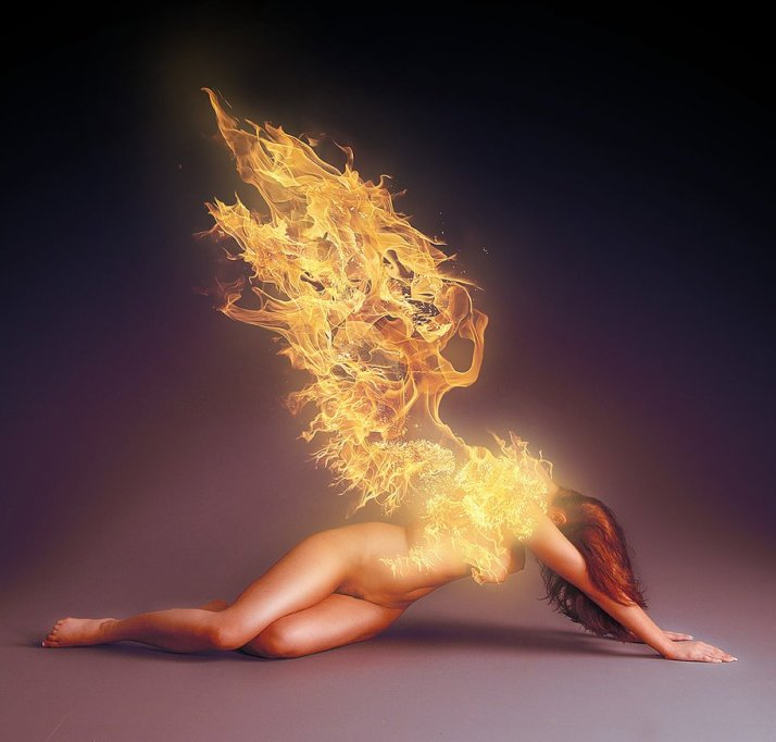 Divine Fire Angel