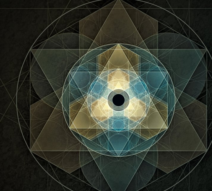 Sacred Geometry Triangle